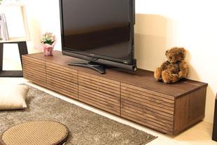 風雅テレビボード幅2000mm ウォールナット