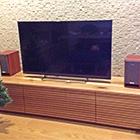 W1800 TVボード タイプ2(ホワイトオーク)