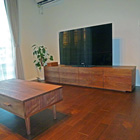 W2000 TVボード(ウォールナット)