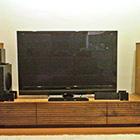 W2000 TVボード/サイドキャビネット左右(ウォールナット)