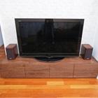 W2000 TVボード タイプ2(ウォールナット)