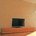 W2400 TVボード(ブラックチェリー)