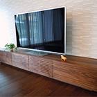 W2400 TVボード(ウォールナット)