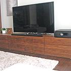 W2400 TVボード タイプ2(ウォールナット)