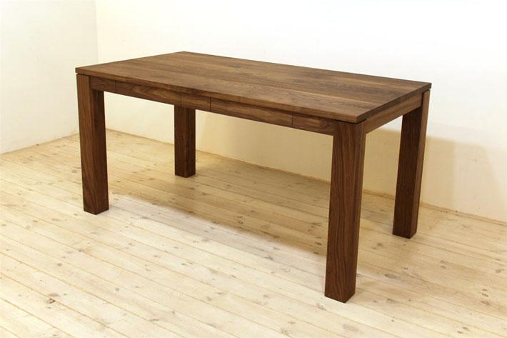 風雅ダイニングテーブル (ウォールナット シンプル)#05