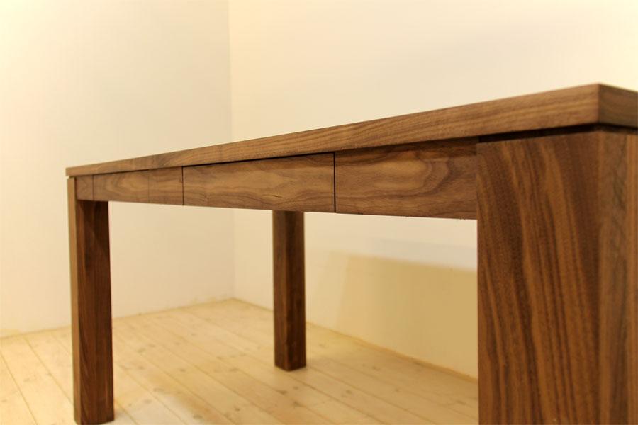 風雅ダイニングテーブル (ウォールナット シンプル)#08