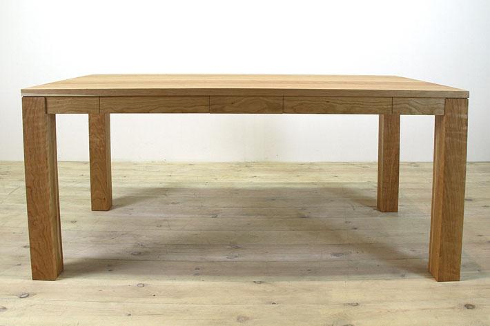 風雅ダイニングテーブル (ブラックチェリー シンプル)#06