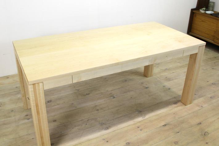 風雅ダイニングテーブル (メープル シンプル)#04
