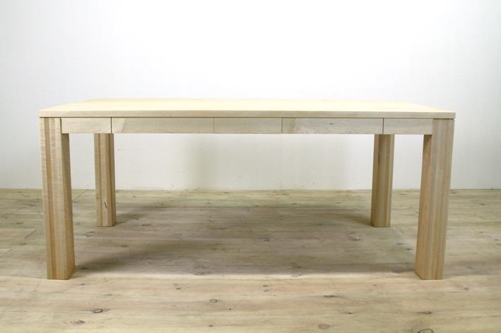 風雅ダイニングテーブル (メープル シンプル)#05