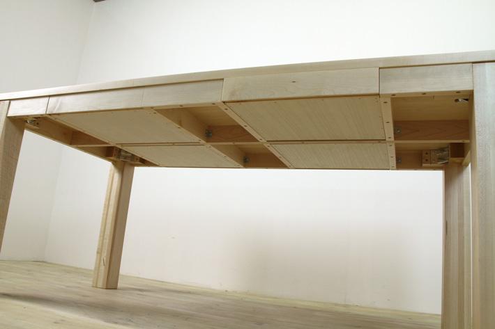 風雅ダイニングテーブル (メープル シンプル)#09