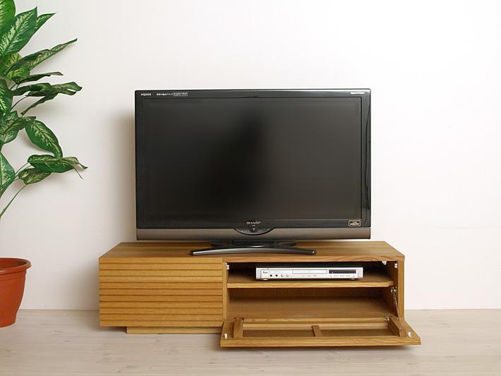 天然木・無垢を使ったテレビ台・テレビボード 風雅  ホワイトオーク#02