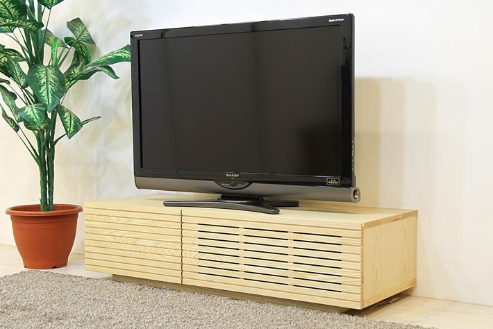 天然木・無垢を使ったテレビ台・テレビボード 風雅  ホワイトアッシュ#01