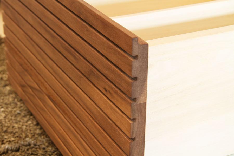 天然木・無垢を使ったテレビ台・テレビボード 風雅  ウォールナット・ウォルナット#05