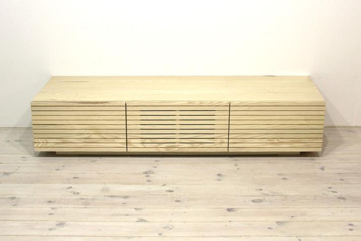 天然木・無垢を使ったテレビ台・テレビボード 風雅  ホワイトアッシュ#03