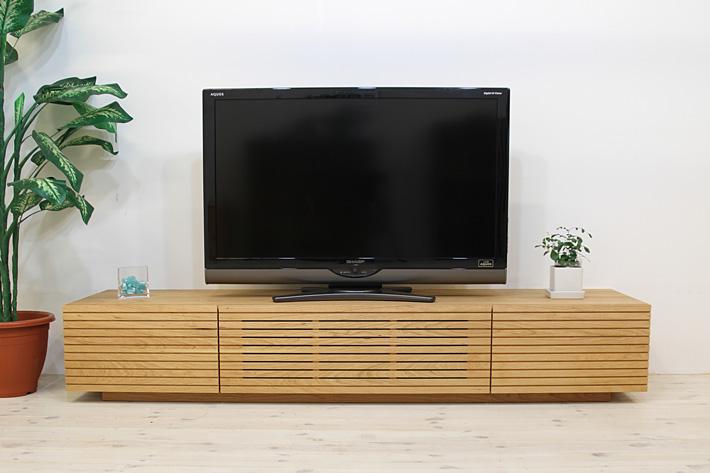 天然木・無垢を使ったテレビ台・テレビボード 風雅  ブラックチェリー#02