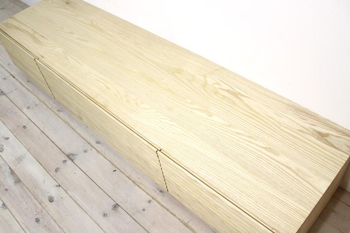 天然木・無垢を使ったテレビ台・テレビボード 風雅  ホワイトアッシュ#06