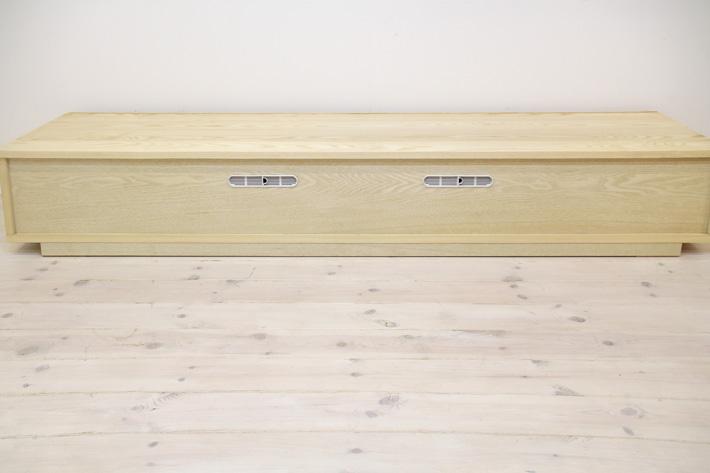 天然木・無垢を使ったテレビ台・テレビボード 風雅  ホワイトアッシュ#08