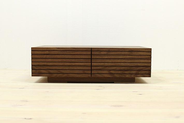 風雅 センターテーブル・ローテーブル・リビングテーブル ウォールナット・ウォルナット#06