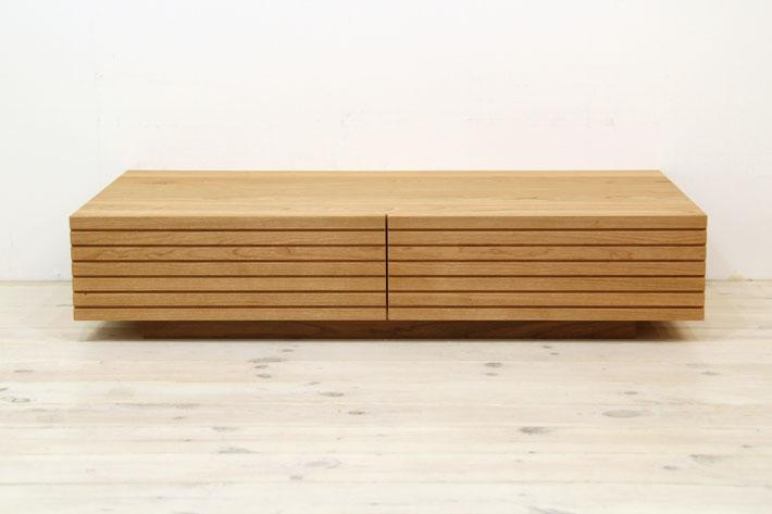 風雅 センターテーブル・ローテーブル・リビングテーブル ブラックチェリー#03