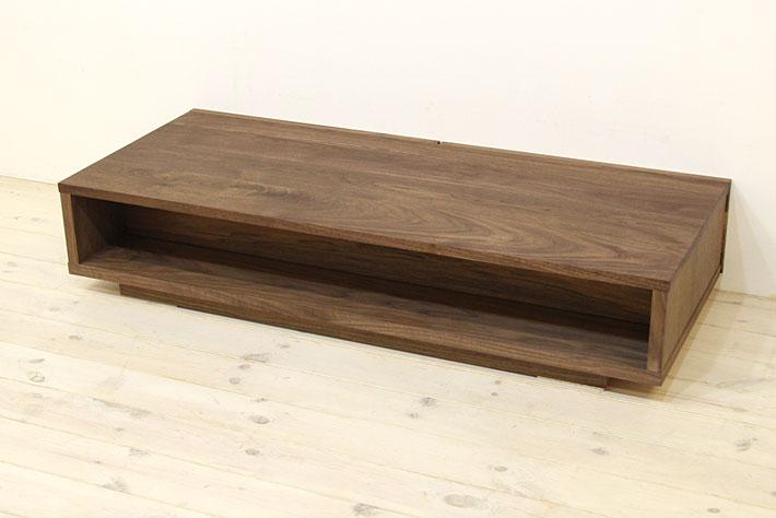 風雅 センターテーブル・ローテーブル・リビングテーブル ウォールナット・ウォルナット#09
