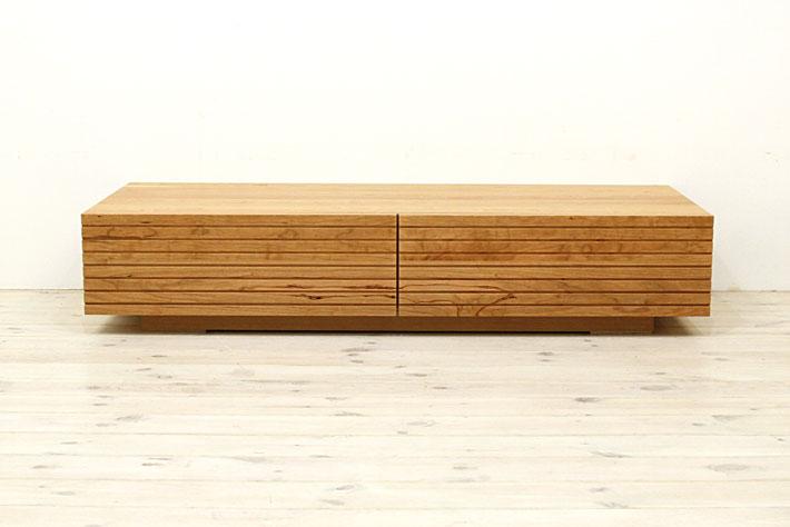 風雅 センターテーブル・ローテーブル・リビングテーブル ブラックチェリー#04
