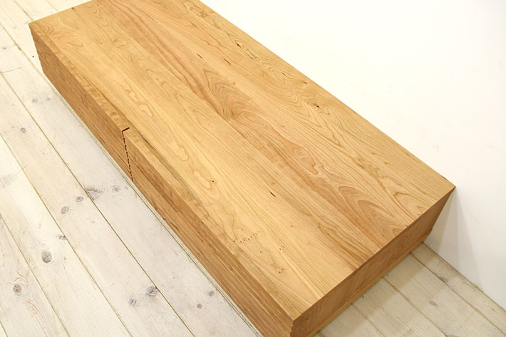 風雅 センターテーブル・ローテーブル・リビングテーブル ブラックチェリー#06
