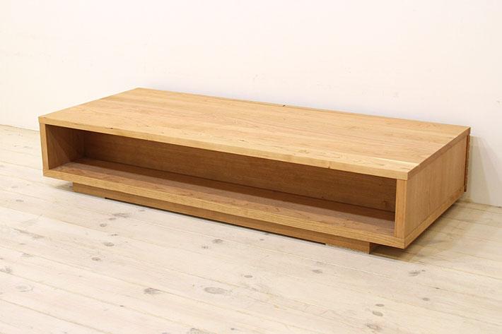 風雅 センターテーブル・ローテーブル・リビングテーブル ブラックチェリー#09