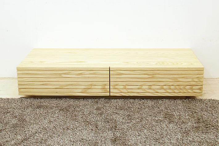 風雅 センターテーブル・ローテーブル・リビングテーブル ホワイトアッシュ#05