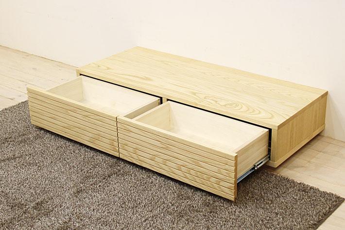 風雅 センターテーブル・ローテーブル・リビングテーブル ホワイトアッシュ#06