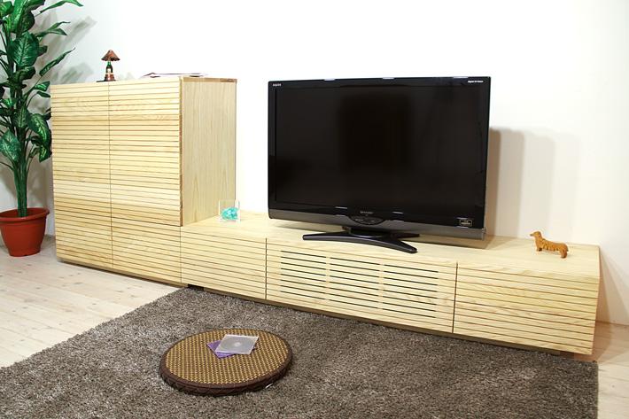 風雅テレビボード ホワイトアッシュ イメージ