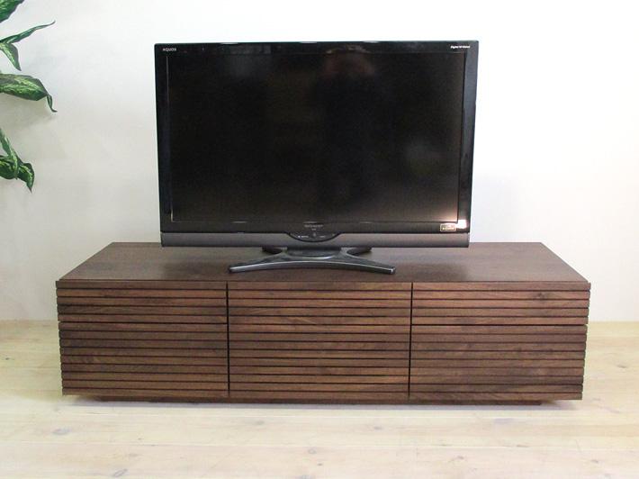 天然木・無垢を使ったテレビ台・テレビボード 風雅  -タイプ2 ウォールナット・ウォルナット#02