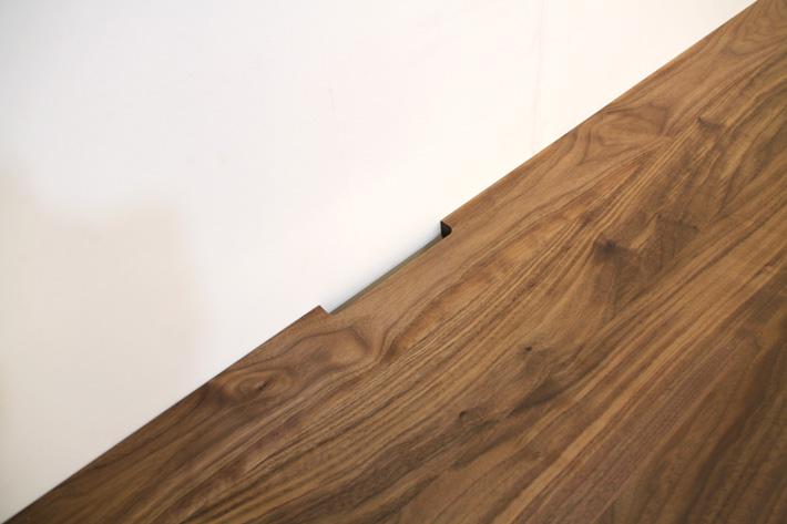 天然木・無垢を使ったテレビ台・テレビボード 風雅  -タイプ2 ウォールナット・ウォルナット#09