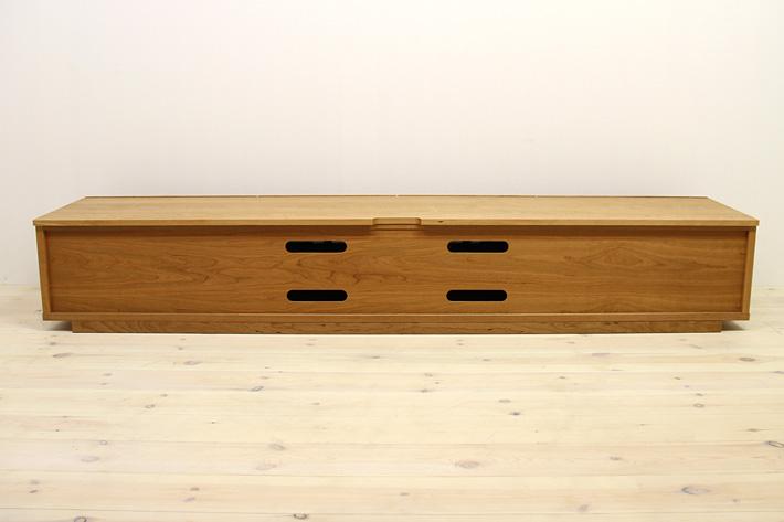 天然木・無垢を使ったテレビ台・テレビボード 風雅  -タイプ2 ブラックチェリー#06