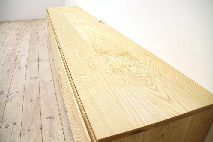 天然木・無垢を使ったテレビ台・テレビボード 風雅  ホワイトアッシュ#07