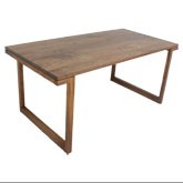 ibuki 無垢 ダイニングテーブル(ウォルナット-ウォルナット)