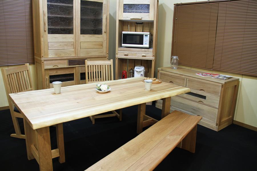 クルミ/KURUMI ダイニングテーブル W1500 #01