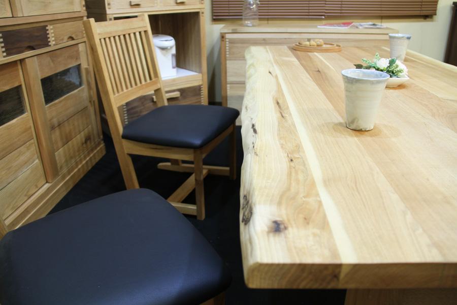 クルミ/KURUMI ダイニングテーブル W1500 #03