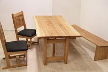 クルミ/KURUMI ダイニングテーブル W1500 #07