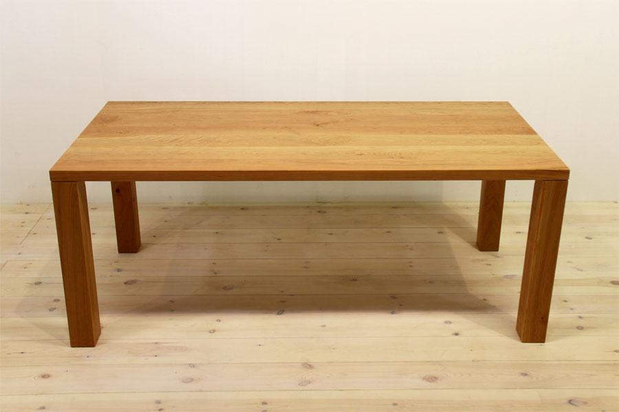 凛/RINダイニングテーブル (ブラックチェリー シンプル)#05