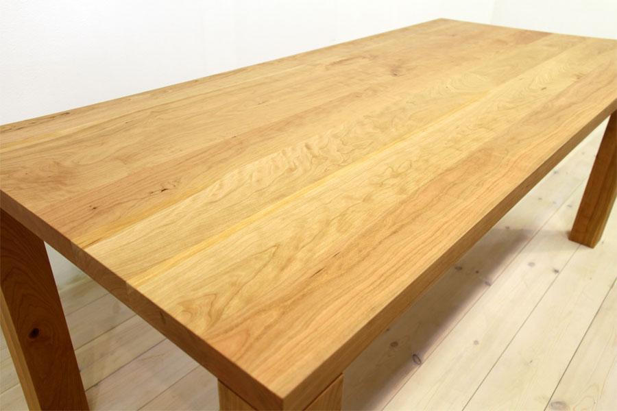 凛/RINダイニングテーブル (ブラックチェリー シンプル)#09