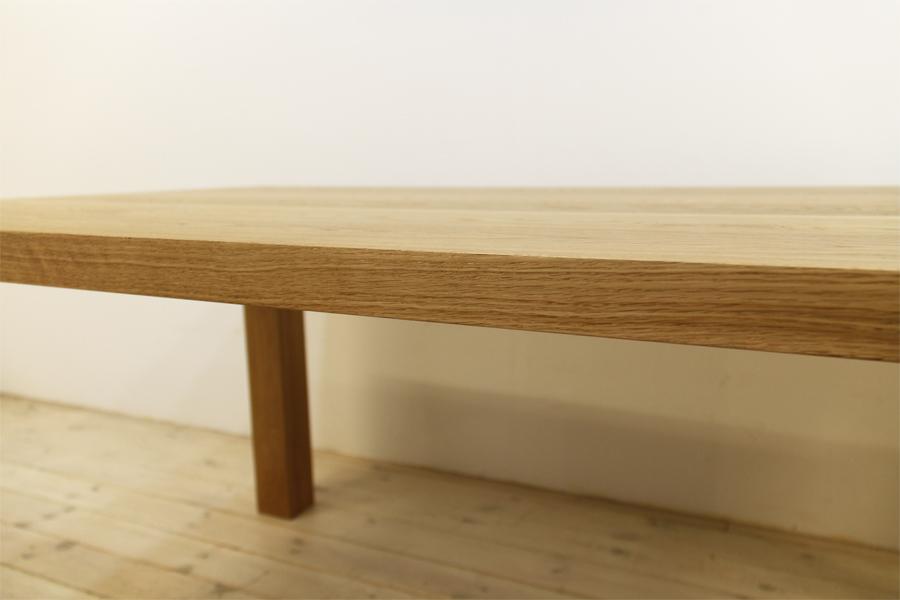 凛/RINダイニングテーブル (ホワイトオーク シンプル)#08