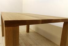 凛/RINダイニングテーブル (ホワイトオーク シンプル)#06