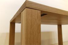 凛/RINダイニングテーブル (ホワイトオーク シンプル)#07