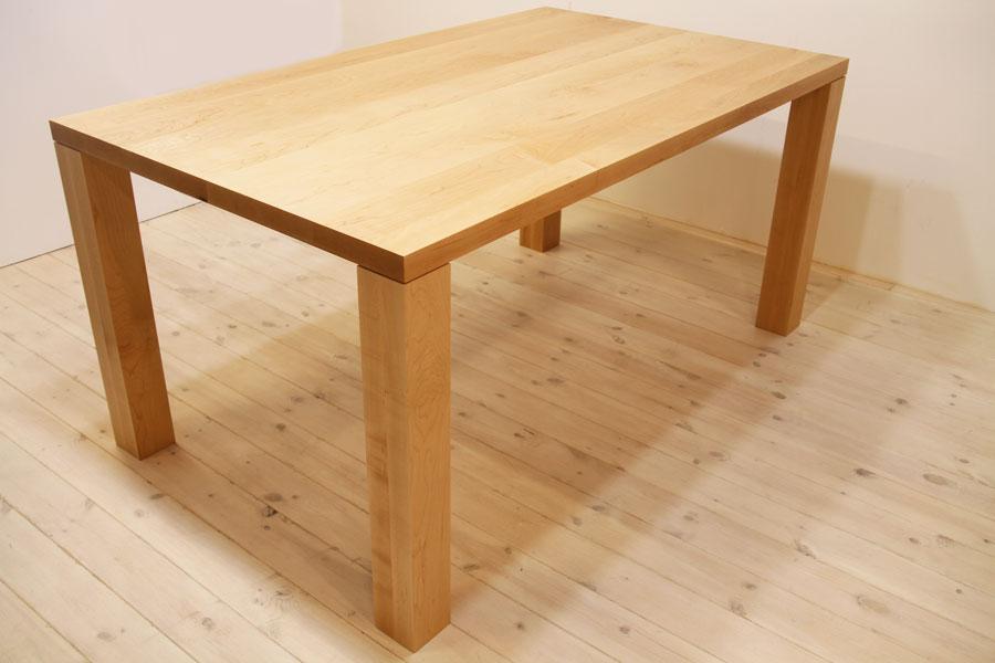 凛/RINダイニングテーブル(メープル シンプル)#01