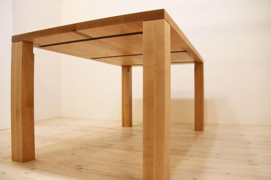 凛/RINダイニングテーブル (メープル シンプル)#02