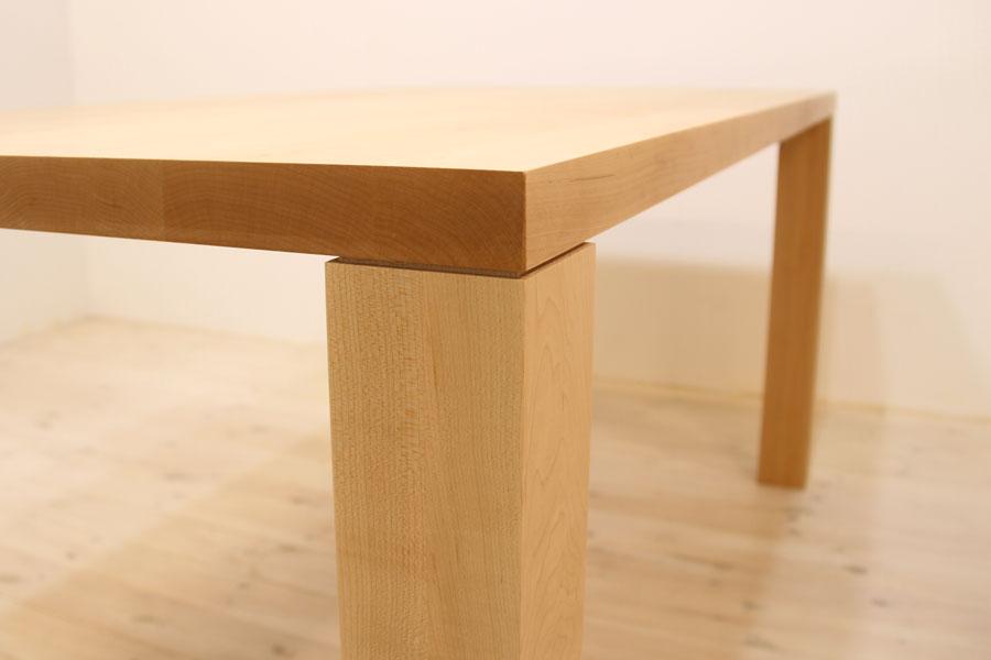 凛/RINダイニングテーブル (メープル シンプル)#07