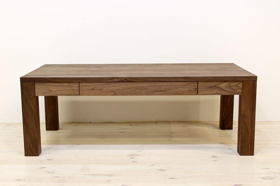 凛 センターテーブル ウォールナット/ウォルナット1