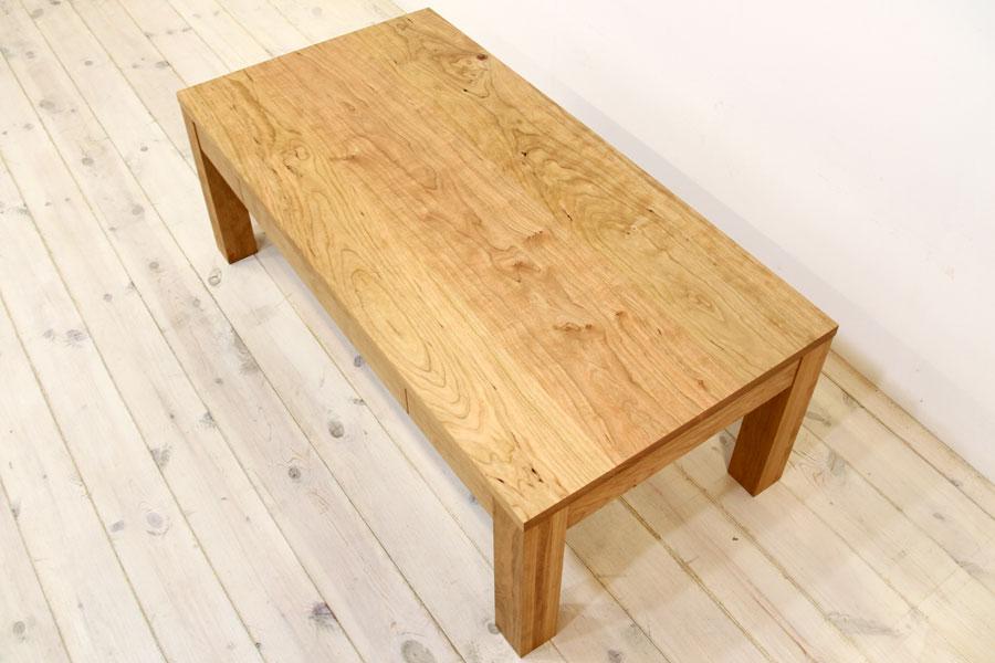 凛 センターテーブル ブラックチェリー6