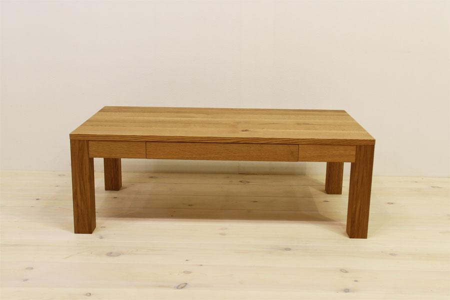 凛 センターテーブル ホワイトオーク2