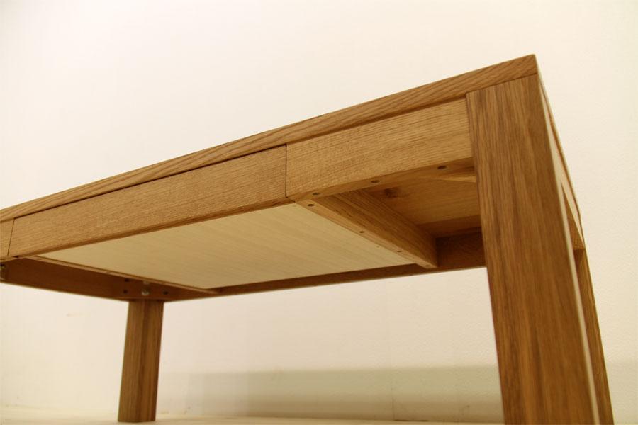 凛 センターテーブル ホワイトオーク5